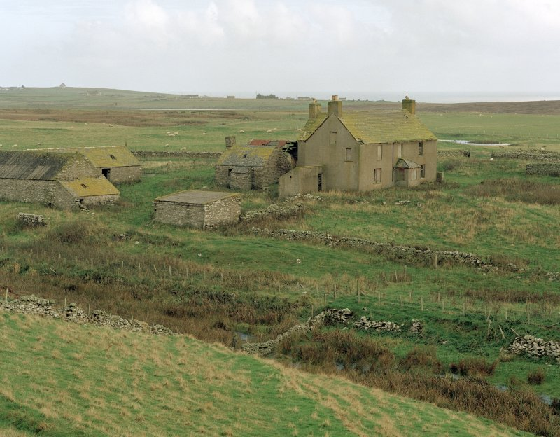 View of steading from south west