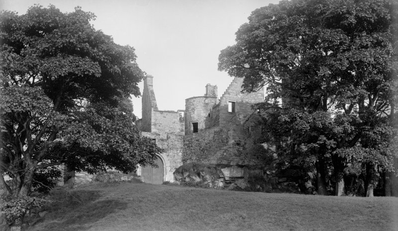 View of Royston Castle, Edinburgh.