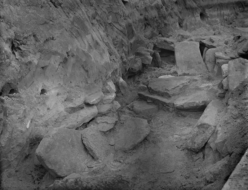 Excavation photograph: View early in excavation probably house 2.