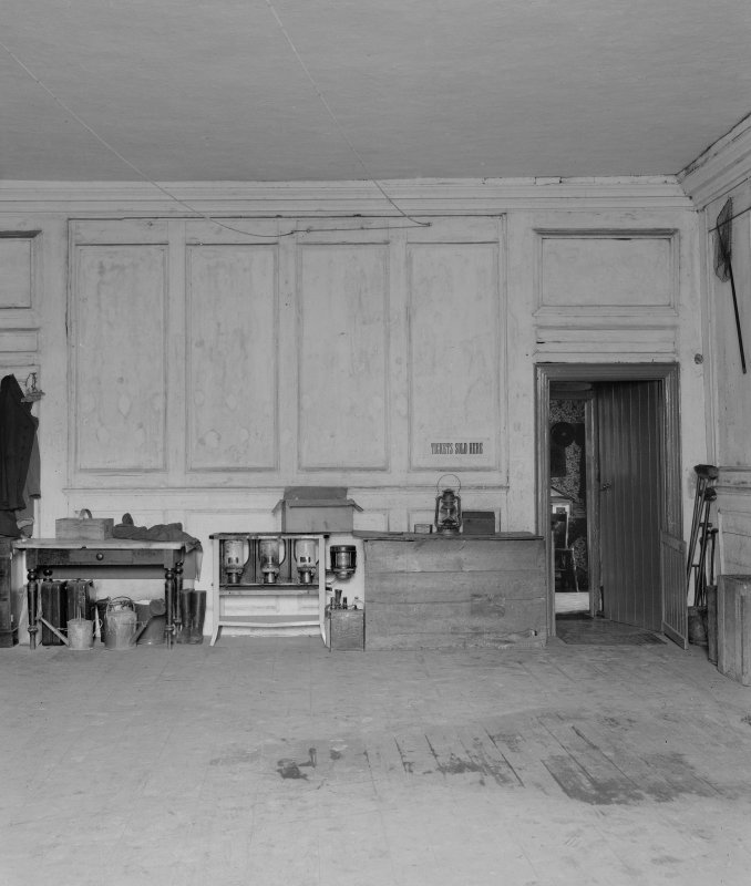 Interior. Room on first floor, South end