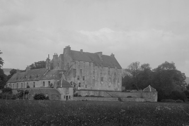 Traquair House. View from South West
