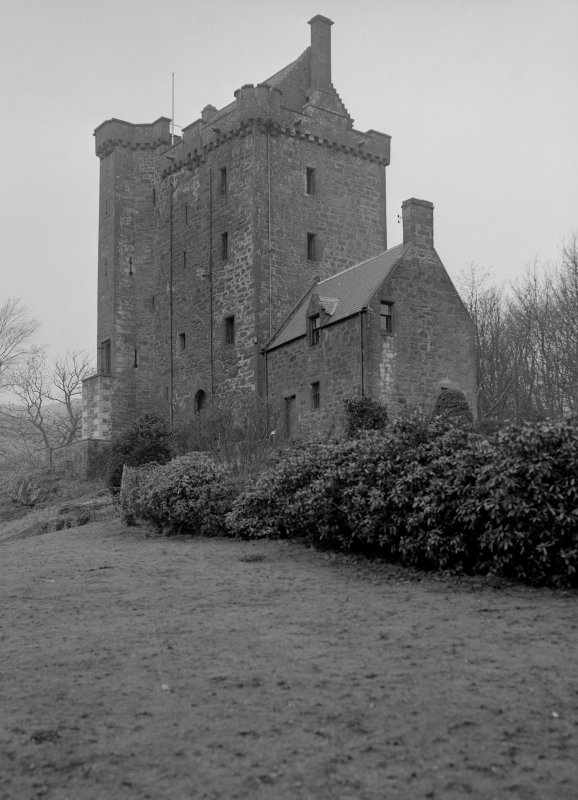 Kinnaird Castle. General view.