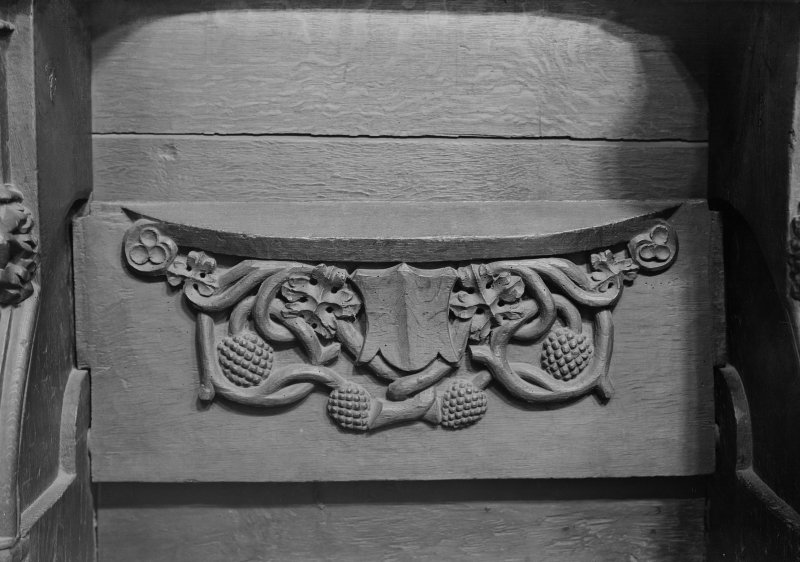 Choir, detail of misericord.
