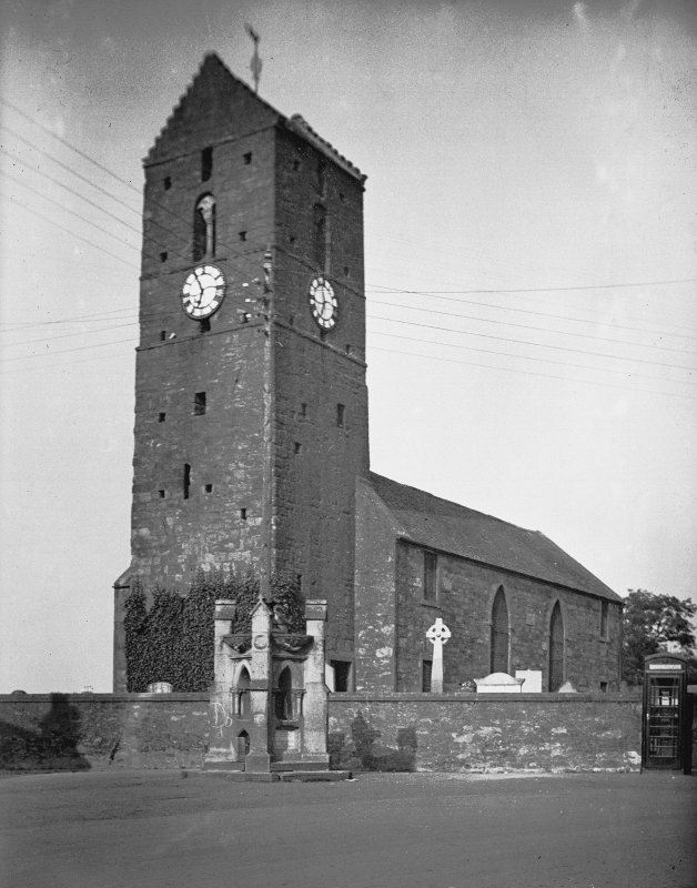 Dunning, St. Serf's Parish Church. General view.
