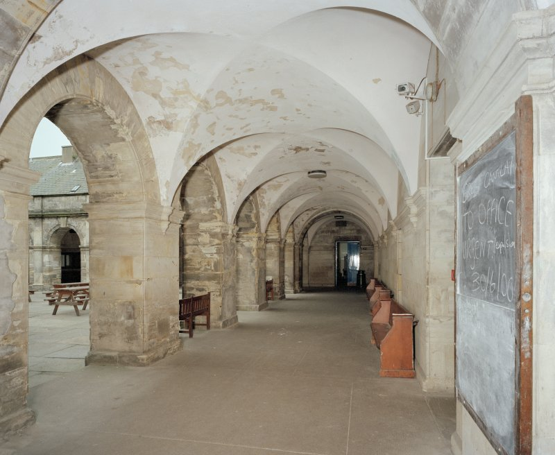 General view of cloisters from North