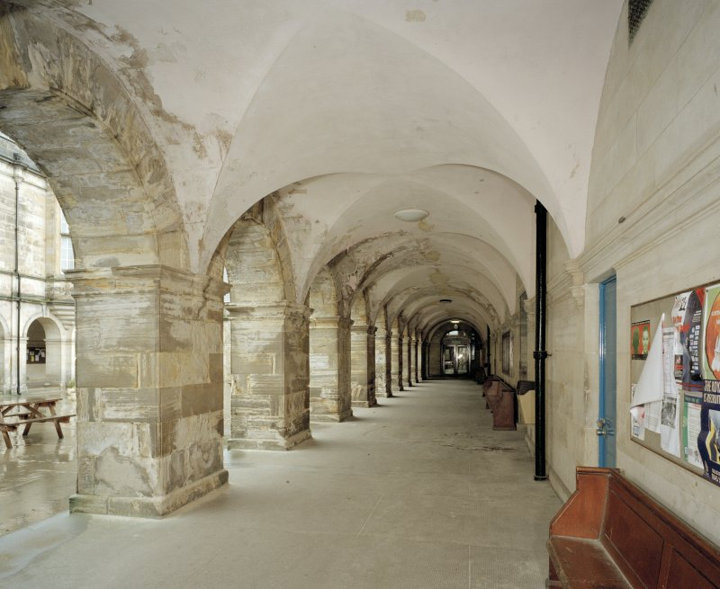 General view of cloisters from East