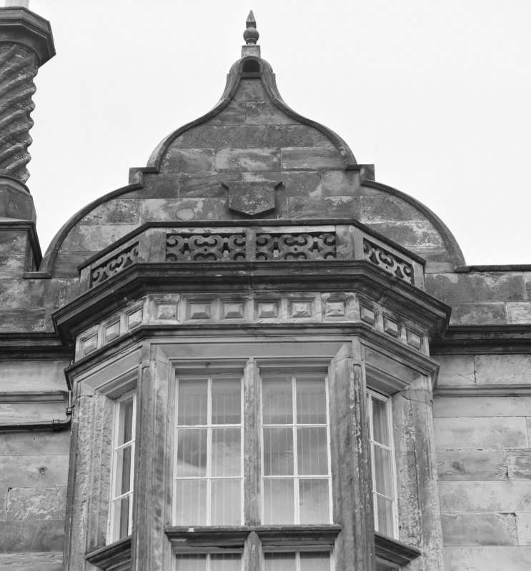 Detail of gable