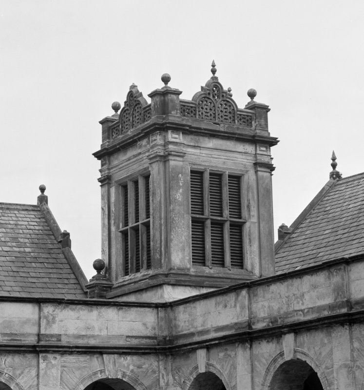 Detail of South East tower