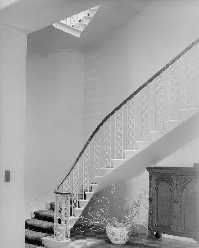 Interior.View of stair.