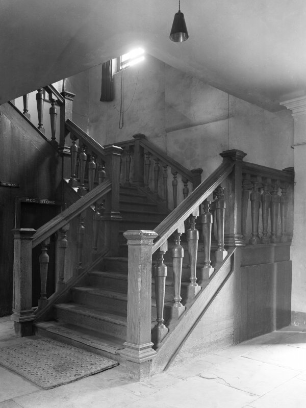 View of staircase.