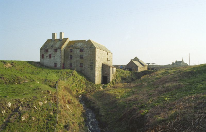 General view of mill looking south