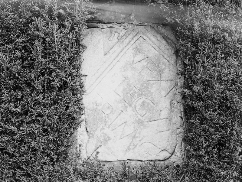 Detail of tablet with inscription of XXII Roman Legion.