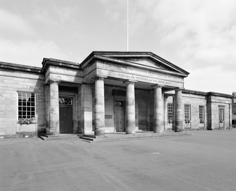 View of portico from south west