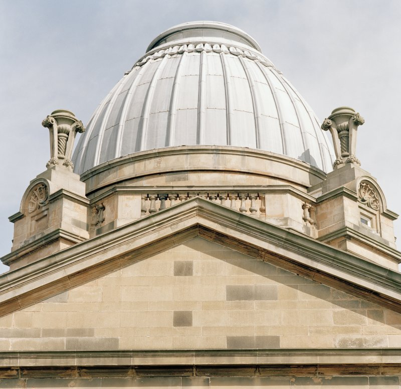 Detail of dome from W.