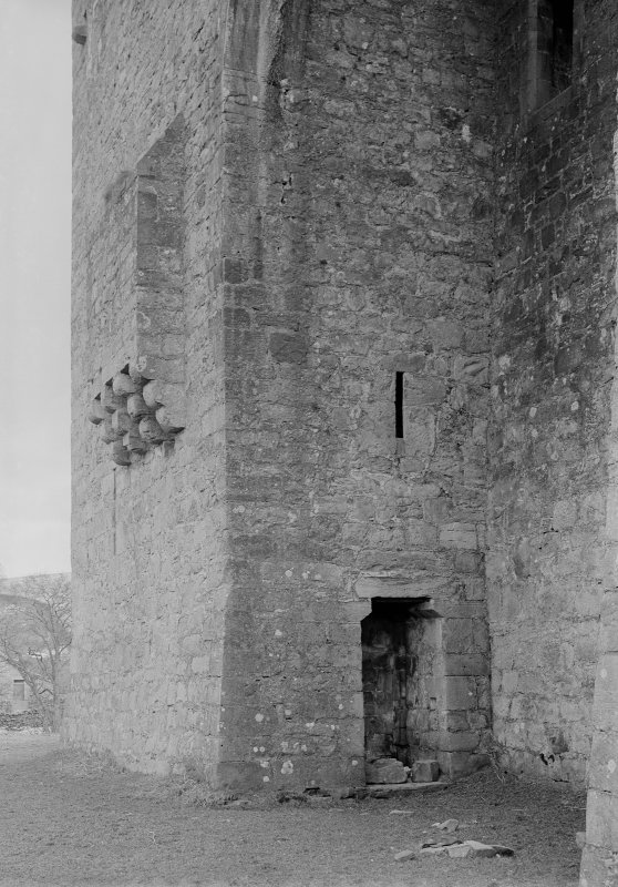 View of doorway in South East tower