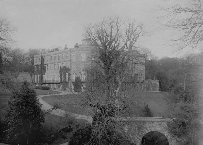 General view of house and bridge from South West