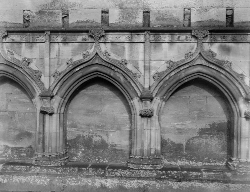 Detail of cloister arches.