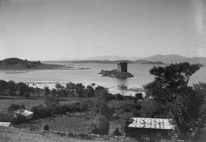 Castle Stalker. View from East.