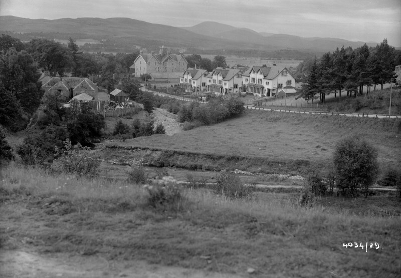 Distant view of Kingussie