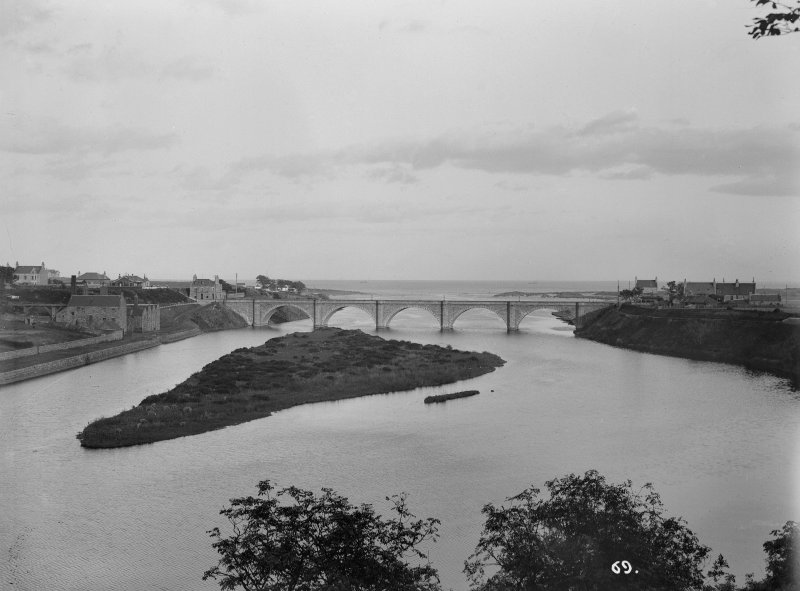Aberdeen, Bridge of Don. General view. Insc: '69'.