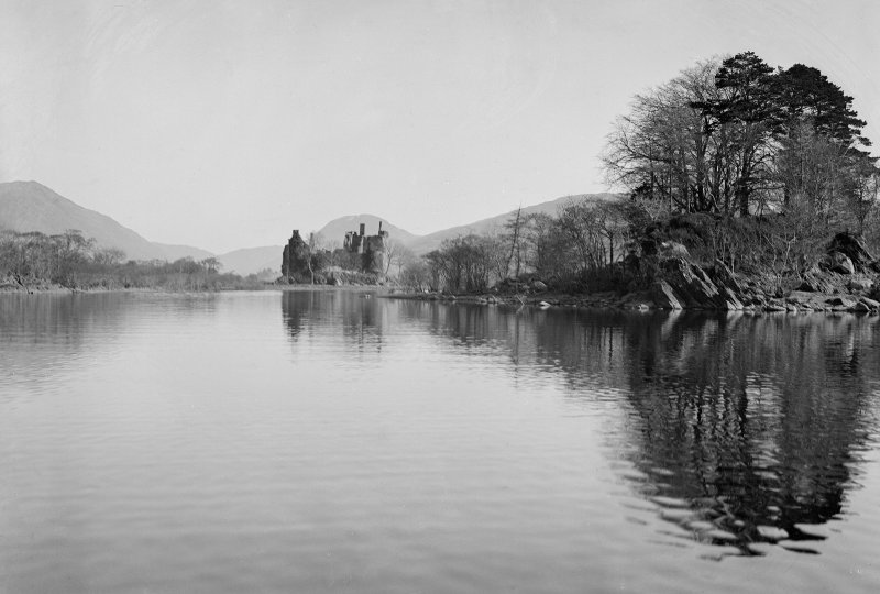 Kilchurn Castle. General view.