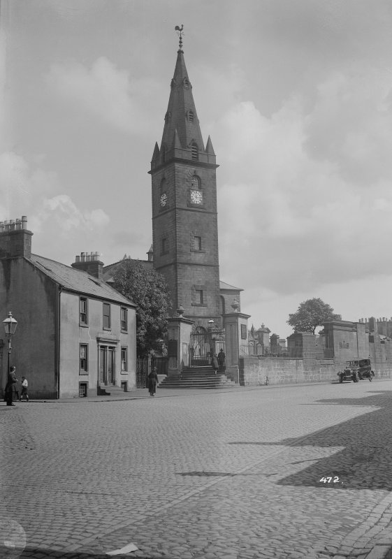View from W of St Michael's Parish Church, Dumfries