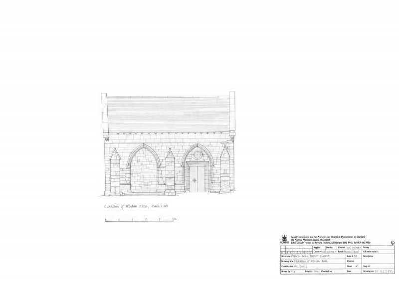 Elevation of Winton Aisle