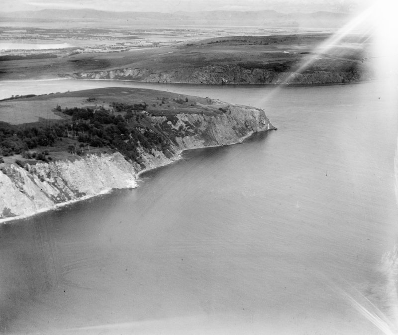Sutors of Cromarty.  Oblique aerial photograph taken facing north.