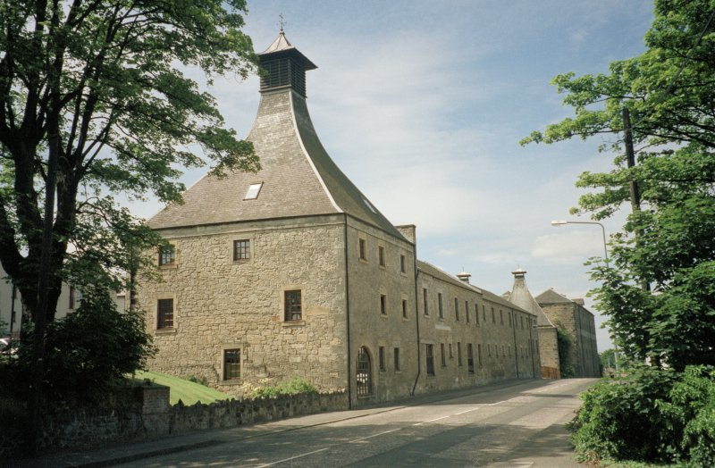 St Magdalene's Distillery, view from east.