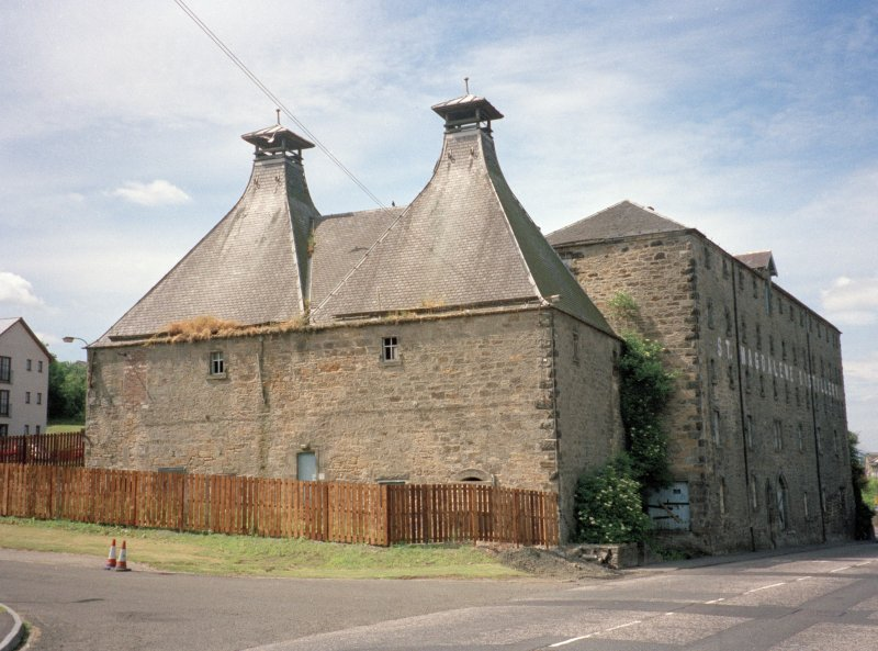 View of St Magdalene's Distillery, Linlithgow, from east.