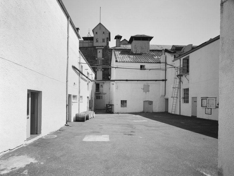 St Magdalene's Distillery, view of courtyard.