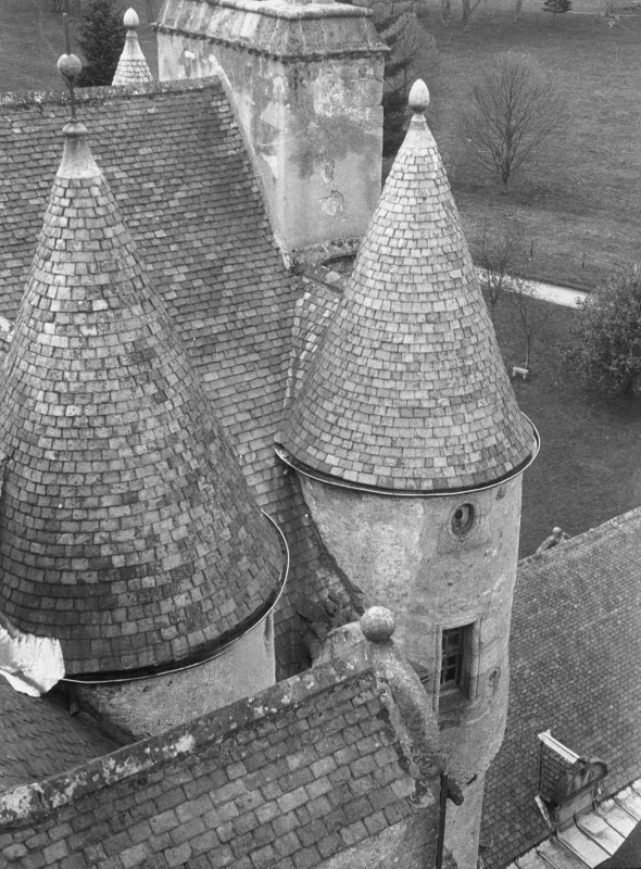 View of turrets.