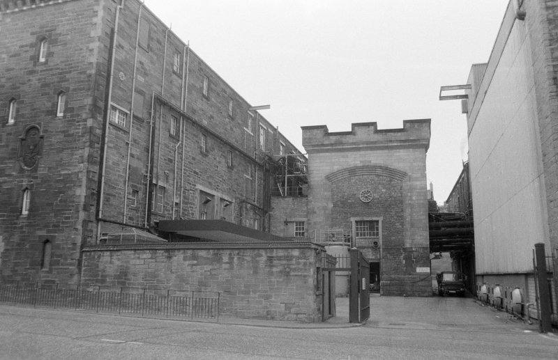 View of South East front of Holyrood Brewery