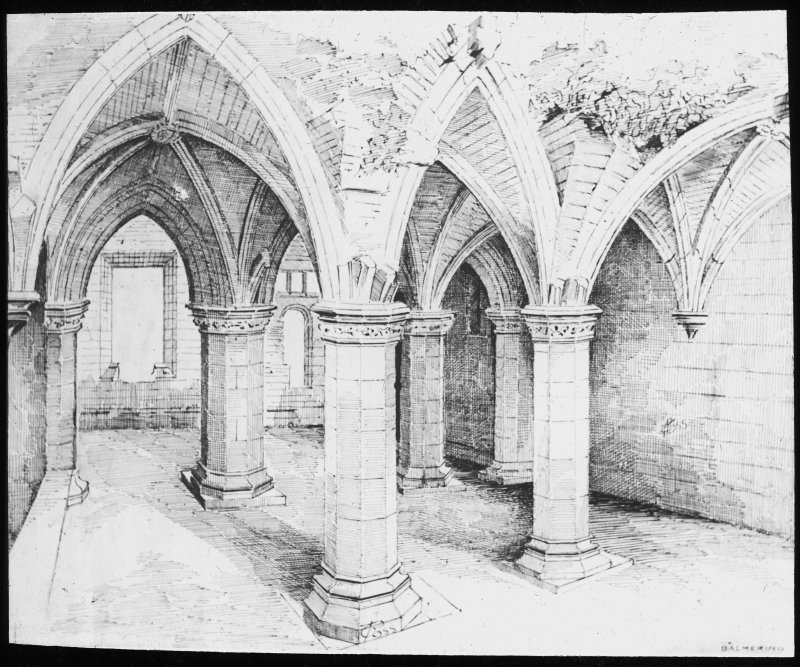 Illustration of arcading in Chapter House.
