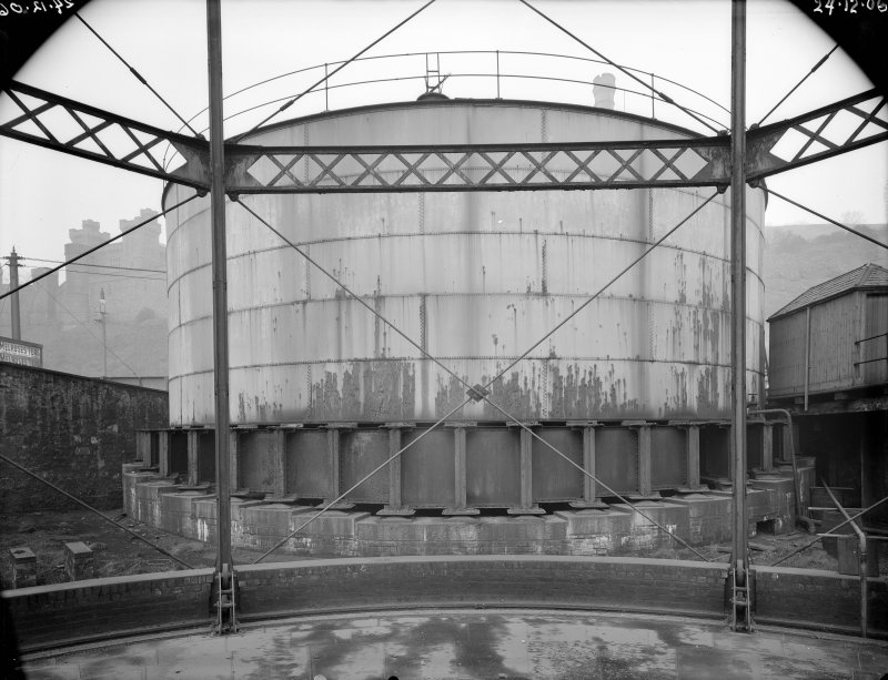 View of gasworks, New Street, Edinburgh.