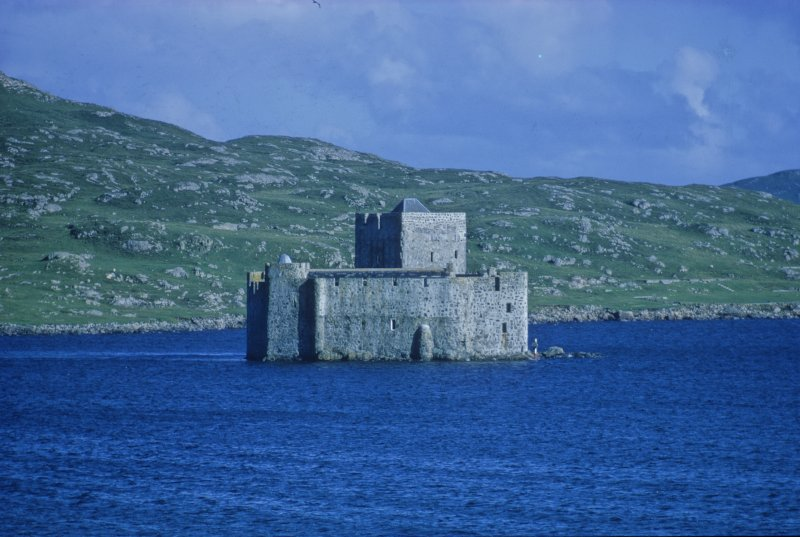 Kisimul Castle, Castle Bay, Barra, seat of Roderick McNeil (1693-1763), whose response to the wrecking and its salvage highlights the complex tensions which existed between Gaeldom and 18th-century legal processes.