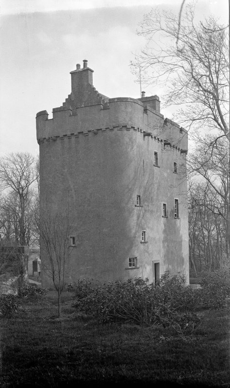 General view of Cranshaws Tower.