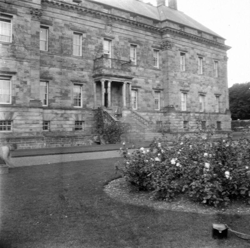 Kinross House. View from East.