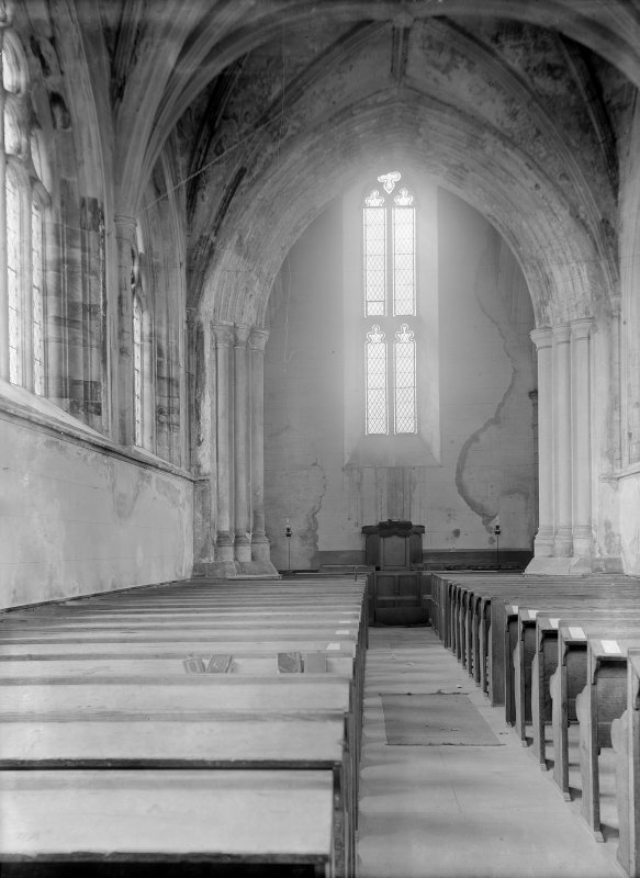 Interior, view of Chancel