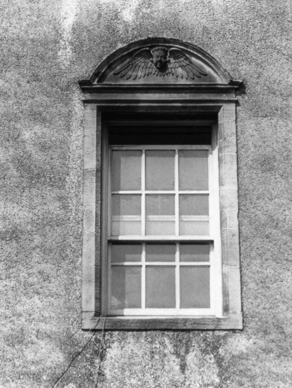 Detail of window in E range.