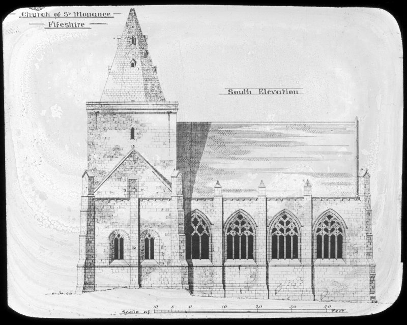 Drawing of South Elevation.