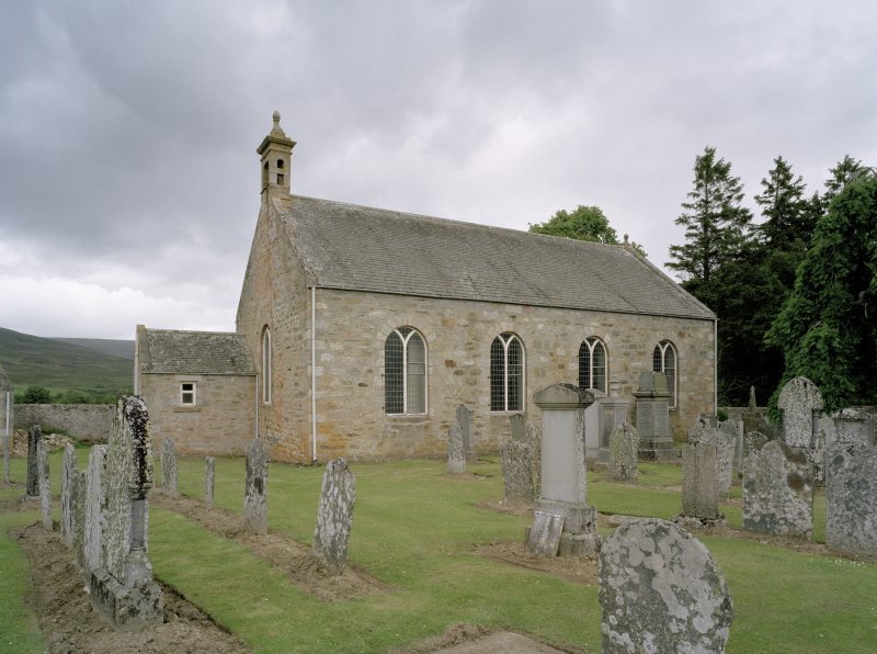 Exterior, general view from South West.