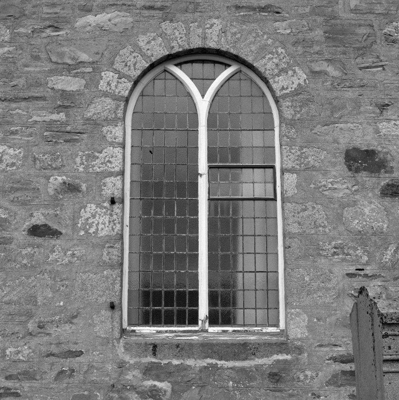 Exterior, detail of window.