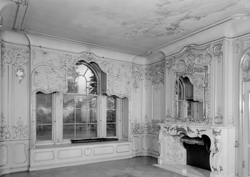 Interior. W wing, principal floor, drawing room.