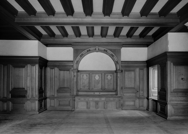 Interior. E wing, principal floor, dining room.