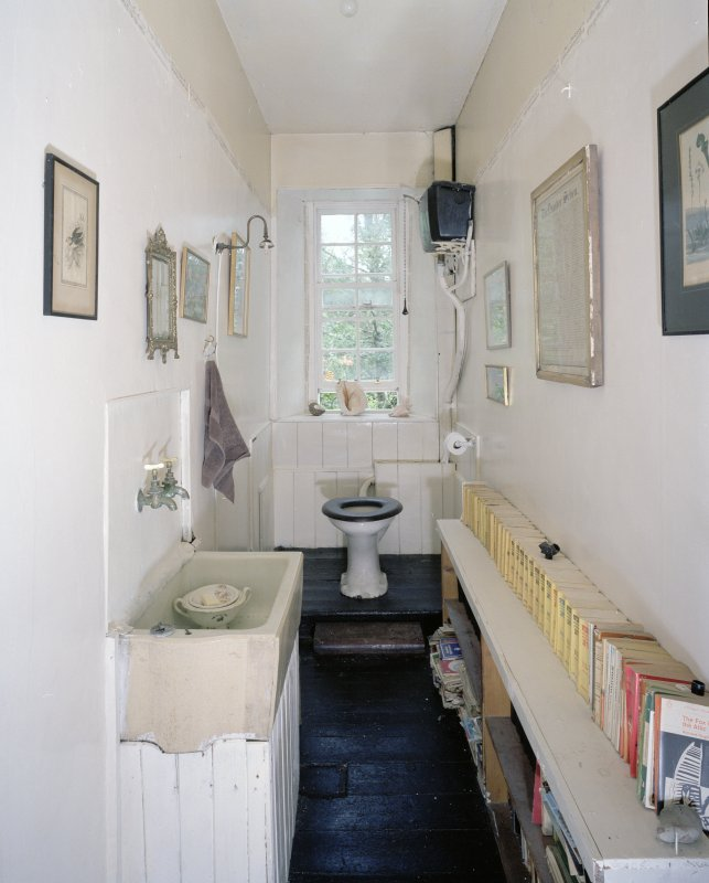 Interior. View of ground floor toilet