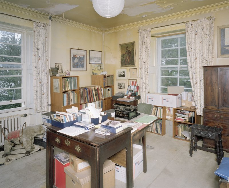 Interior. First floor Margaret Fay Shaw's sitting room  from E