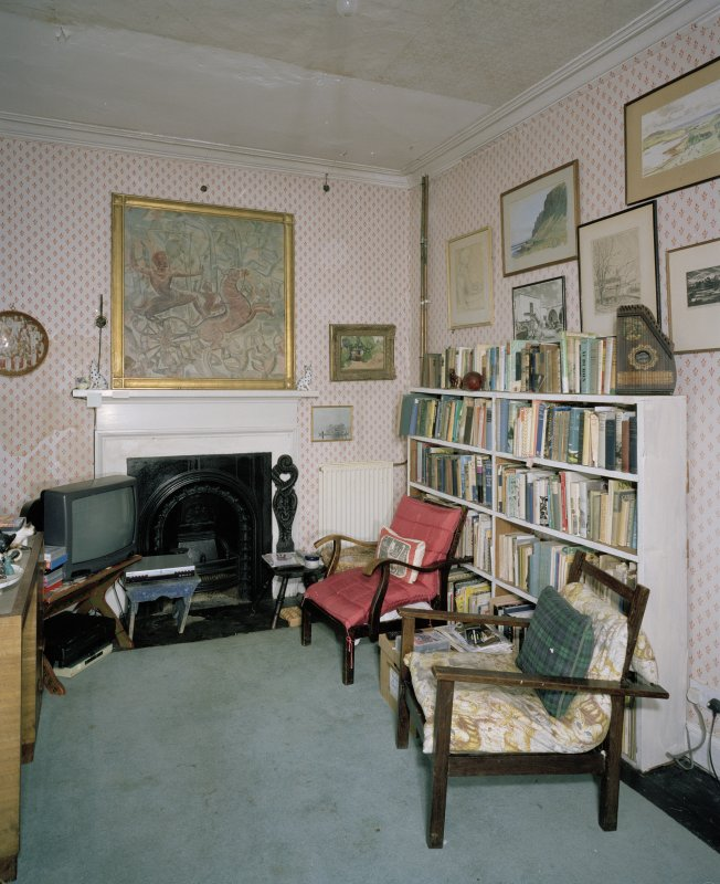 Interior. First floor back sitting room