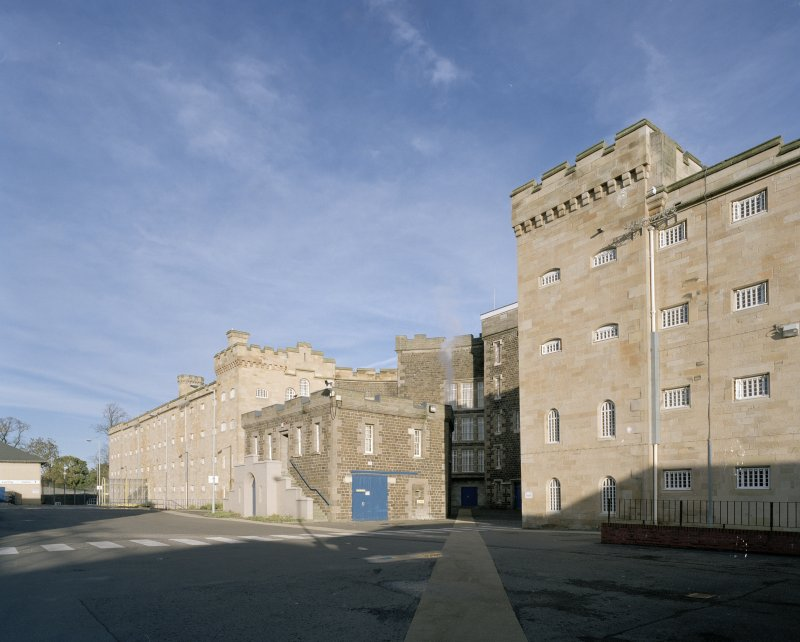 A and  B/D Halls. General  view from SW