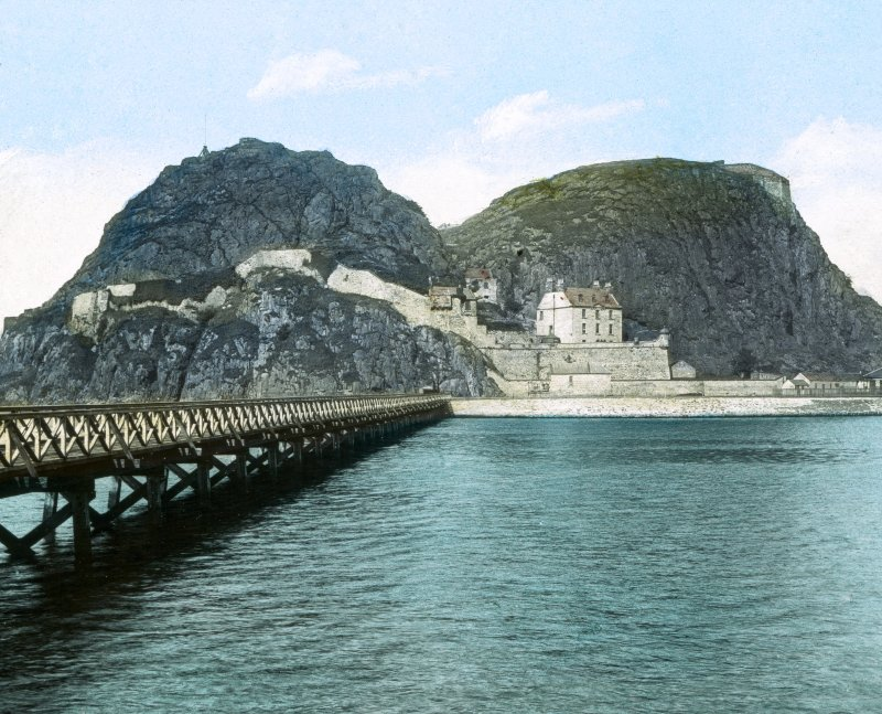 Dumbarton Rock Castle and Fort.
